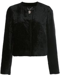 schwarze Jacke von Salvatore Ferragamo