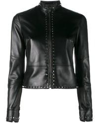schwarze Jacke von Valentino