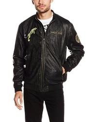 schwarze Jacke von Versace