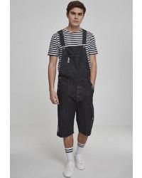 schwarze Jeans Latzhose von Urban Classics