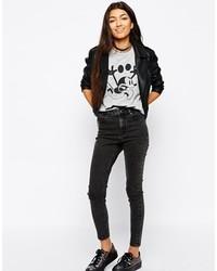 Schwarze jeans kombinieren sommer