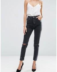 schwarze Jeans von Asos