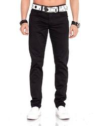 schwarze Jeans von Cipo & Baxx