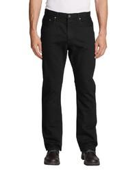 schwarze Jeans von Eddie Bauer
