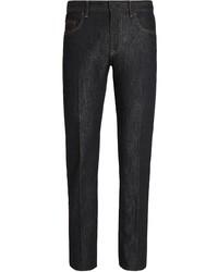 schwarze Jeans von Ermenegildo Zegna