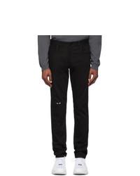 schwarze Jeans von Fendi