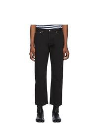 schwarze Jeans von Maison Margiela