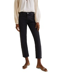 schwarze Jeans von Mango