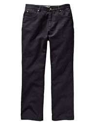 schwarze Jeans von MEN PLUS BY HAPPY SIZE