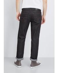 schwarze Jeans von Pierre Cardin