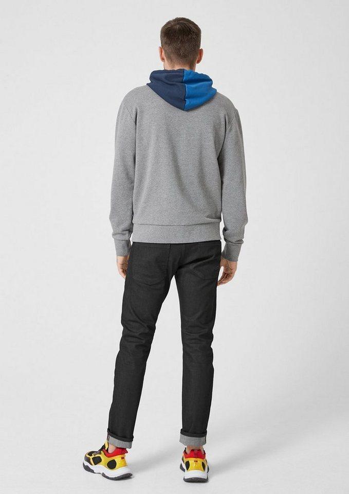 schwarze Jeans von S.OLIVER RED LABEL