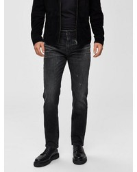 schwarze Jeans von Selected Homme