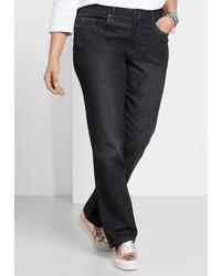 schwarze Jeans von SHEEGO DENIM