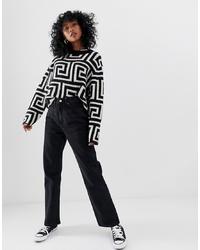 schwarze Jeans von Weekday