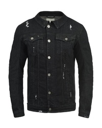 schwarze Jeansjacke von BLEND