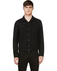 Schwarze Jeansjacke von Diesel