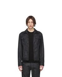 schwarze Jeansjacke von DSQUARED2