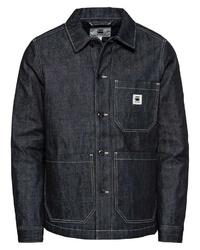 schwarze Jeansjacke von G-Star RAW