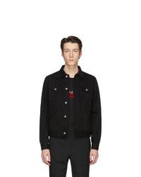 schwarze Jeansjacke von Givenchy