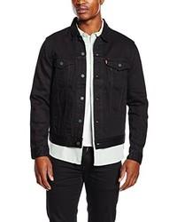 schwarze Jeansjacke von Levi's