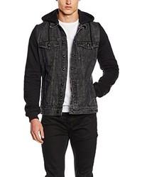 schwarze Jeansjacke von Urban Classics