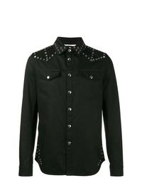 schwarze Jeansjacke von Valentino