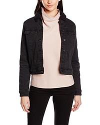 schwarze Jeansjacke von Vero Moda