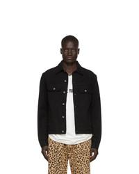 schwarze Jeansjacke von Vyner Articles