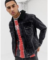 schwarze Jeansjacke von YOURTURN