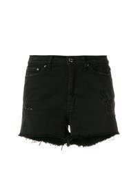 schwarze Jeansshorts von Dondup