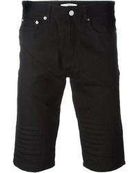 schwarze Jeansshorts von Givenchy