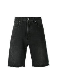 schwarze Jeansshorts von MSGM