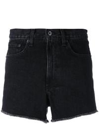 schwarze Jeansshorts von Rag & Bone