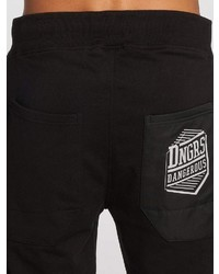 schwarze Jogginghose von Dangerous
