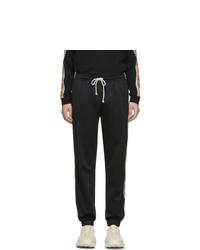 schwarze Jogginghose von Gucci