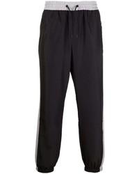 schwarze Jogginghose von MSGM