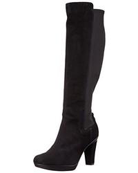 schwarze kniehohe Stiefel von Geox