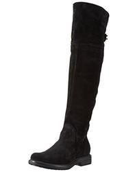 schwarze kniehohe Stiefel von Mjus