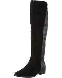 schwarze kniehohe Stiefel von Tamaris