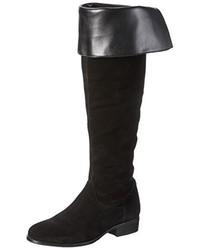 schwarze kniehohe Stiefel von Vero Moda