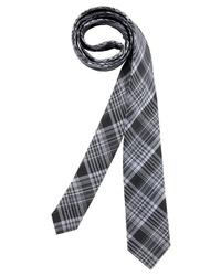 schwarze Krawatte mit Schottenmuster von MAN´S WORLD