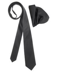 schwarze Krawatte von BRUNO BANANI