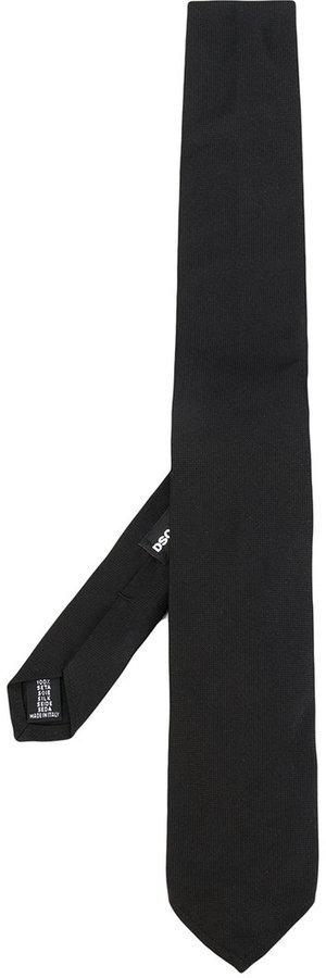schwarze Krawatte von DSQUARED2