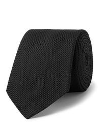 schwarze Krawatte von Lanvin
