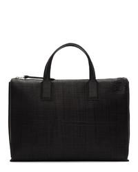 schwarze Leder Aktentasche von Loewe