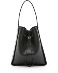 schwarze Leder Beuteltasche von 3.1 Phillip Lim