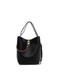 schwarze Leder Beuteltasche von Givenchy