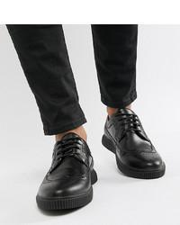 schwarze Leder Brogues von ASOS DESIGN