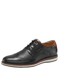 schwarze Leder Brogues von Pantofola D'oro