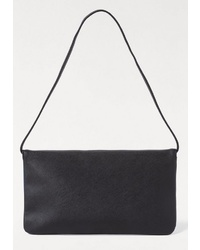 schwarze Leder Clutch von Esprit